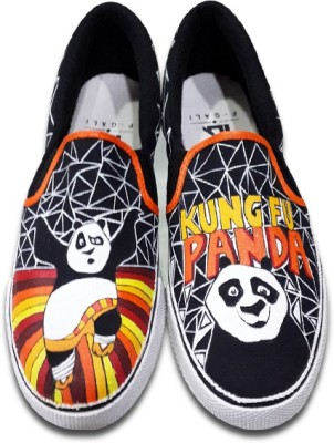 F-Gali The KungFu Panda Slip-on Shoes Canvas Shoes