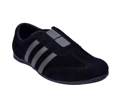 Sir Corbett Running Shoes(Black, Grey)