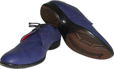 Senso Vegetarian Shoes Mens Blue Formals Lace Up Shoes