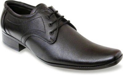 Sapatos Black Genuine Leather Lace Up Shoes