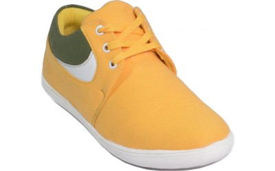 DK Shoes Canvas Shoes(Yellow)