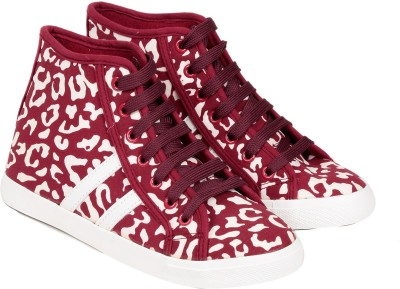 TEN Red Fabric Shoes