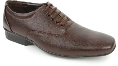 Griffon 821-4005-Brown Lace Up Shoes