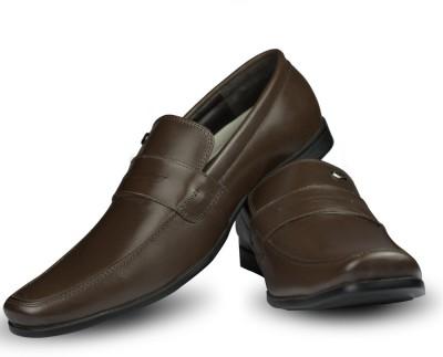 Blue Harpers Smart Saddle Brown Slip On Shoes