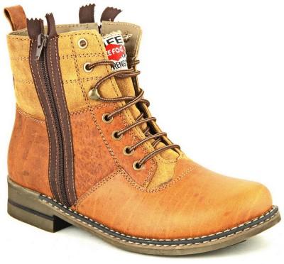 Lee Fog Javan Tan Boots