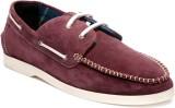 Pelle Originale Boat Shoes (Maroon)