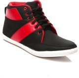 Juan David Sneakers (Black, Red)