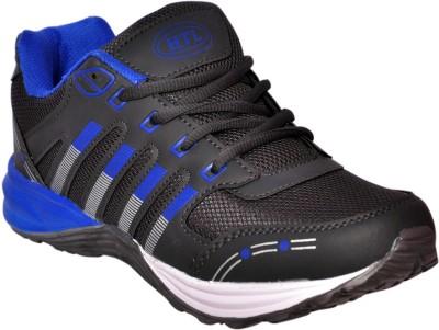 Hitcolus Dark Grey & Royal Blue Running Shoes, Walking Shoes