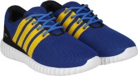 Kraasa Sports Running Shoes, Walking Shoes, Cycling Shoes, Cricket Shoes(Blue) best price on Flipkart @ Rs. 489