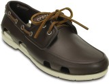 Crocs Boat Shoes (Brown)