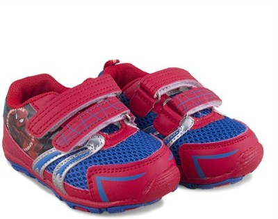 Spiderman Bs1cbsm18,Red/Royal Blue Casual Shoes