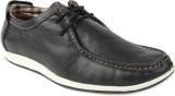 Spunk Boat Shoes (Black)