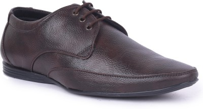Rozo Brown Formal Lace Up Shoes