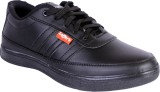 Shoebook Mens Black Sneakers (Black)