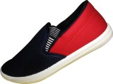 Comfort Cotton Sneakers (Blue, Red)