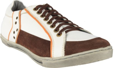 Salt N Pepper 15-386 Gambler Brown White Sneakers Sneakers