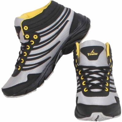 Tracer Srs-Boot-04 Black/Grey Casual Shoes
