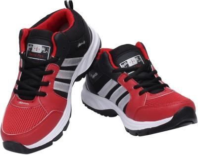 AERO FAX Cycling Shoes, Walking Shoes, Hockey Shoes(Red, Black, Silver)