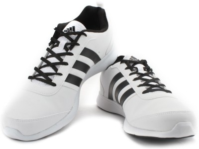 Adidas ALCOR SYN 1.0 M Men Running Shoes(Black, White) at flipkart