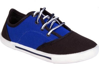 Star Ab Spiderblackr.Blue Canvas Shoes