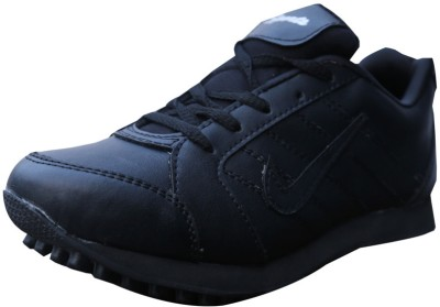 Sports Blk Running Shoes