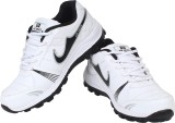 Air Space Running Shoes (White, Black)