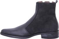 Stiletto Black color Boots(Black)
