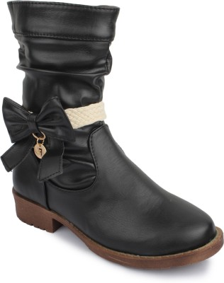 Phedarus Black High Boots Boots