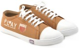Boysons smart men Canvas Shoes (Tan)