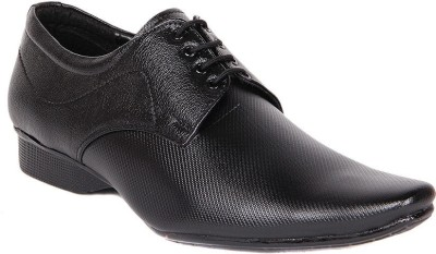 Dox Black Lace Up Shoes