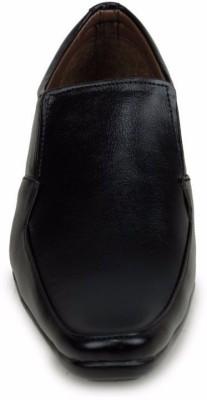 M-Toes M- Toes MT1034 Black Men Formal Shoes Slip On