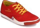Loddx Canvas Shoes (Red)