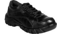 JK Port Black Faux Leather Safety Shoe Lace Up best price on Flipkart @ Rs. 803
