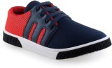 Limerence Boys Lace Sneakers (Red)
