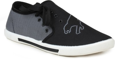 Gasser Tigerblkgrey Canvas Shoes