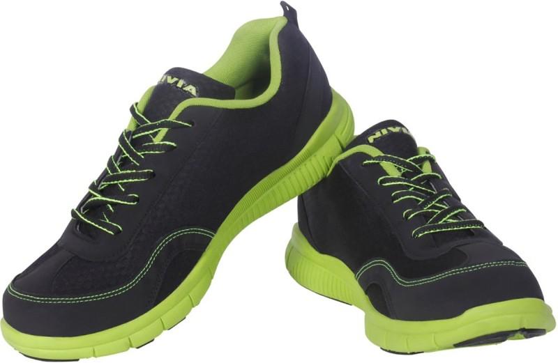 Nivia Escort Running Shoes(Black...