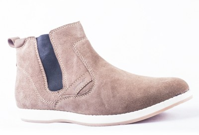Tanny Shoes Suede Brown Casual Shoes
