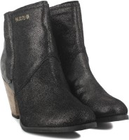 Superdry Dillanger Boots(Black, Grey)
