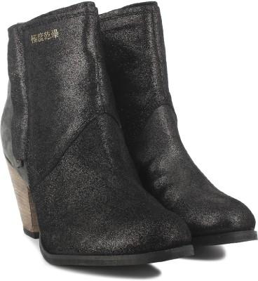 Super Dry Dillanger Boots(Black, Grey)