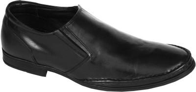 Pinellii Haldus Slip on Black (Italian Hand Crafted) Slip On Shoes