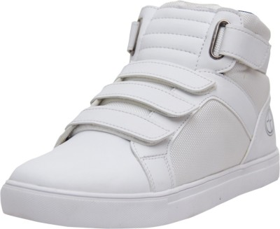 West Code Men's Synthetic Leather Casual Shoes 7080-White-7 Casuals