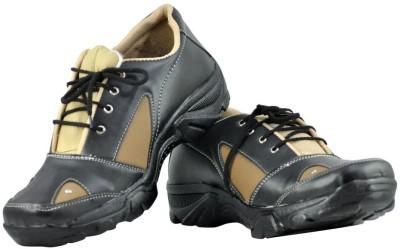 Alpha Man Beige-Black Casuals Shoes