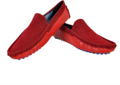 Stylords Mighty Red Loafers Loafers