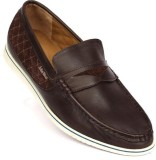 John West Stroll Over Loafers (Brown)