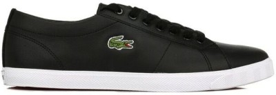 Lacoste Mens Black Marcel LCR Leather Trainers Casual Shoes