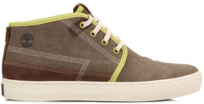 Timberland Mens Olive Adventure Cupsole Chukka Boots Casual Shoes