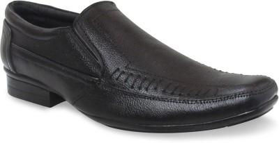 Sapatos Black Genuine Leather Slip On Shoes