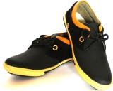 BLK LEATHER Casuals (Black)