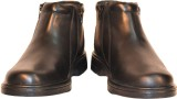 TSF Leather Boots (Black)