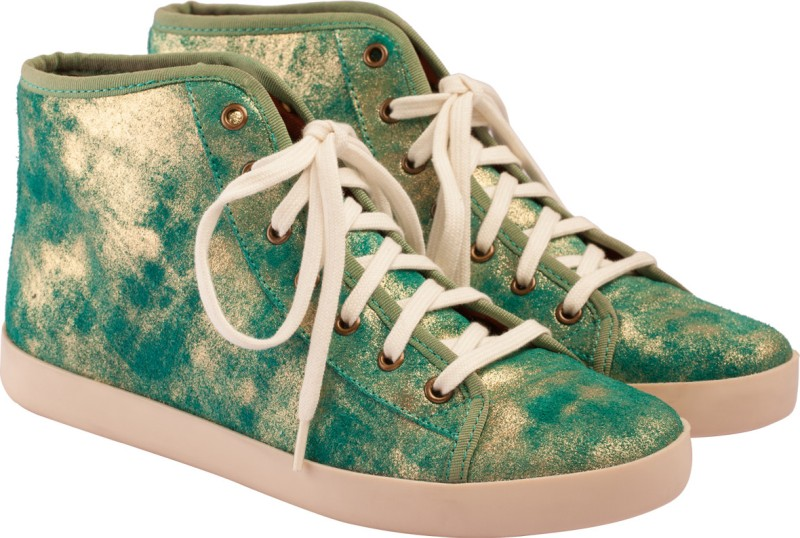 VAPH Audrey Hi-Top Sneakers(Green)